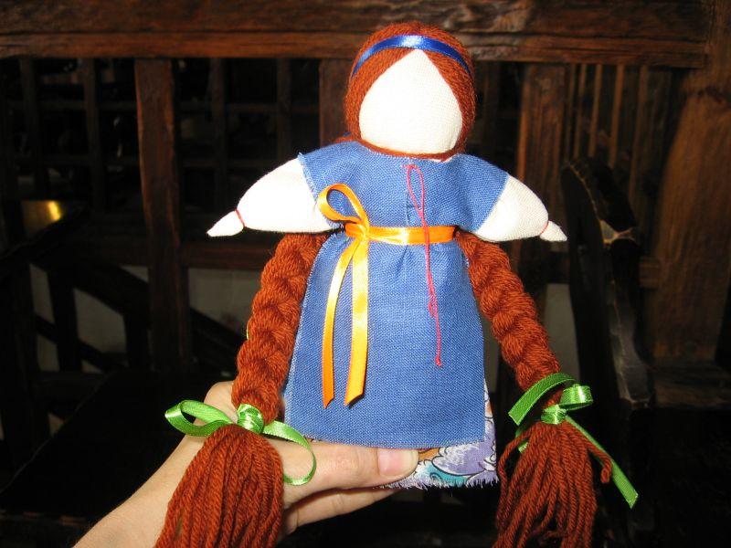 Кукла-мотанка своими руками оберег